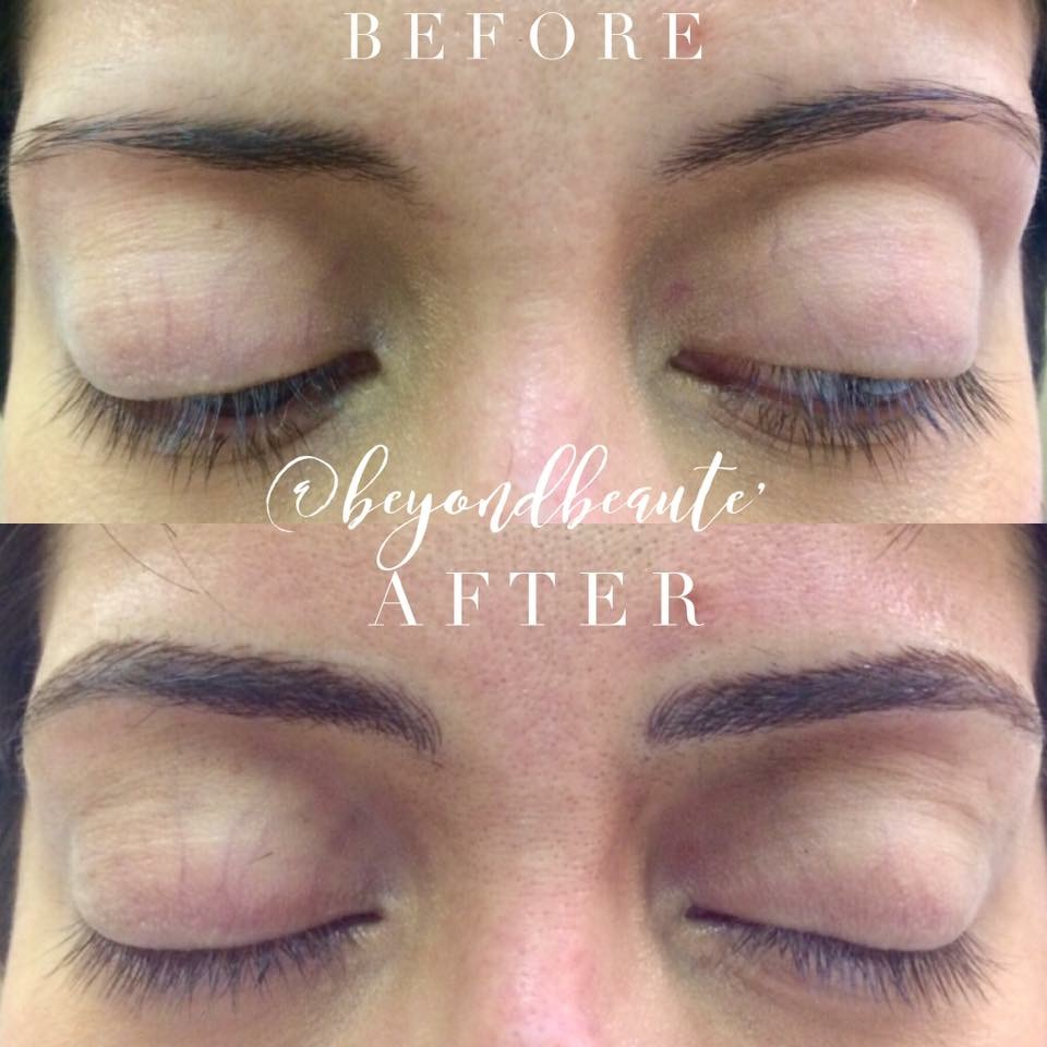 Permanent Eyebrow Tattoo Vs Microblading Beyond Beaute
