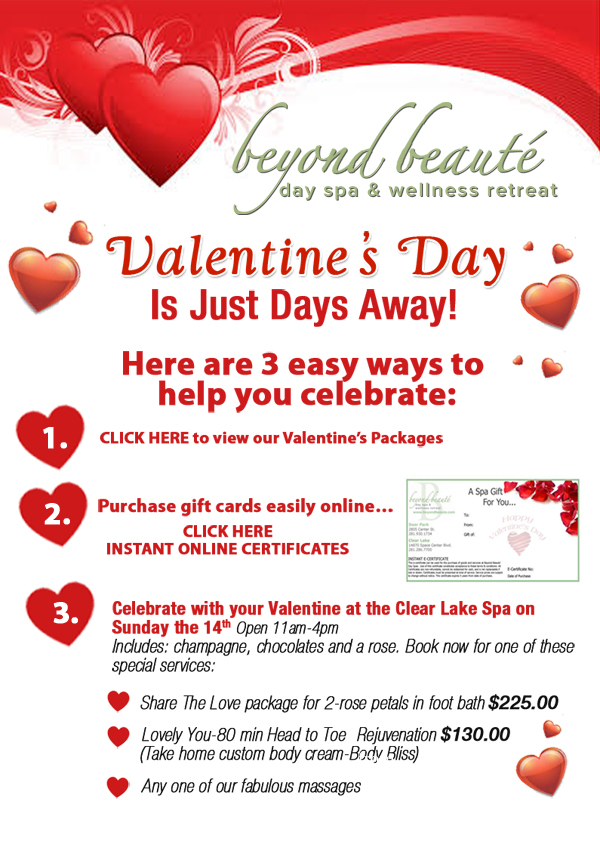 Valentines Day Is Just Days Away Beyond Beaute